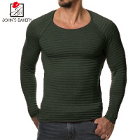 High Grade 2017 New Autumn Winter Fashion Brand Clothing Men S Sweaters Solid Color Slim Fit