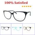 Envío gratis Hot 2016 Gafas de Acetato Marco Óptico Retro gafas Gafas Mujeres Gafas de Marco con la Bisagra Del Resorte B20212
