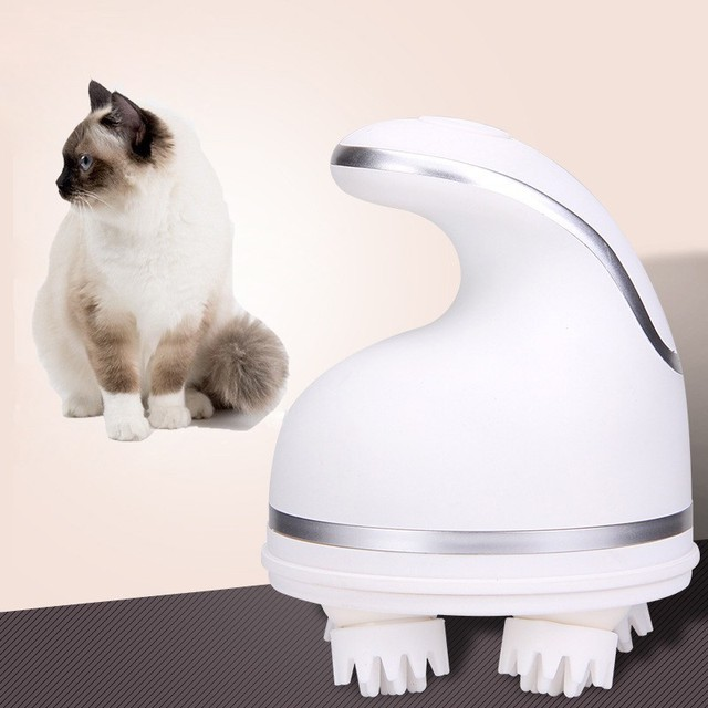 Automatic omnidirectional cat massager 1