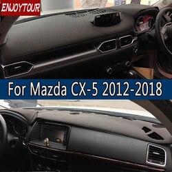 Dla Mazda CX-5 CX5 EK KF 20122018 skóra Dashmat pokrywa deski rozdzielczej zapobiec światło słoneczne Pad desce rozdzielczej Mat 2007 2008 2009 2013 2014 2016