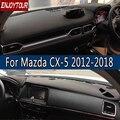 Für Mazda CX-5 CX5 EK KF 20122018 Leder Dashmat Dashboard Abdeckung Verhindern Sonnenlicht Pad Dash Matte 2007 2008 2009 2013 2014 2016