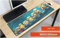 90x30 센치메터 하수인 마우스 사랑스러운 게임 마우스 패드 게이머 마우스 매트 패드 새로운 게임 컴퓨터 padmouse 뜨거운 판매 노트북
