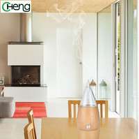 The Latest Wooden Glass Essential Oil Humidifier Ultrasonic Room Aroma Diffusion Ultrasonic Aroma Diffuser Home Office