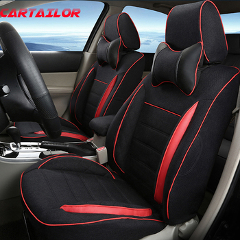 CARTAILOR Car Seat Cover Set for Volkswagen VW B8 Variant 2017 2018 Automobiles Seat Covers for Car Seats Protector Accessories