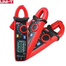 UNI-T UT210E Цифровые токовые клещи True RMS мини AC/DC Ток Напряжение Авто Диапазон VFC емкость Бесконтактный мультиметр тестер