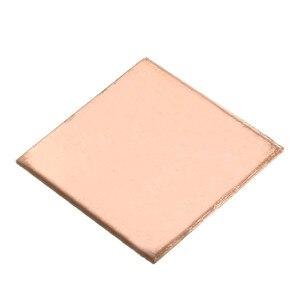 Image 5 - 10Pcs 0,1mm/0,3mm/0,5mm/0,8mm/Laptop Kupfer Blatt Platte Streifen Shim thermische Pad Kühlkörper Blatt Für GPU CPU VGA Chip RAM Kühlung