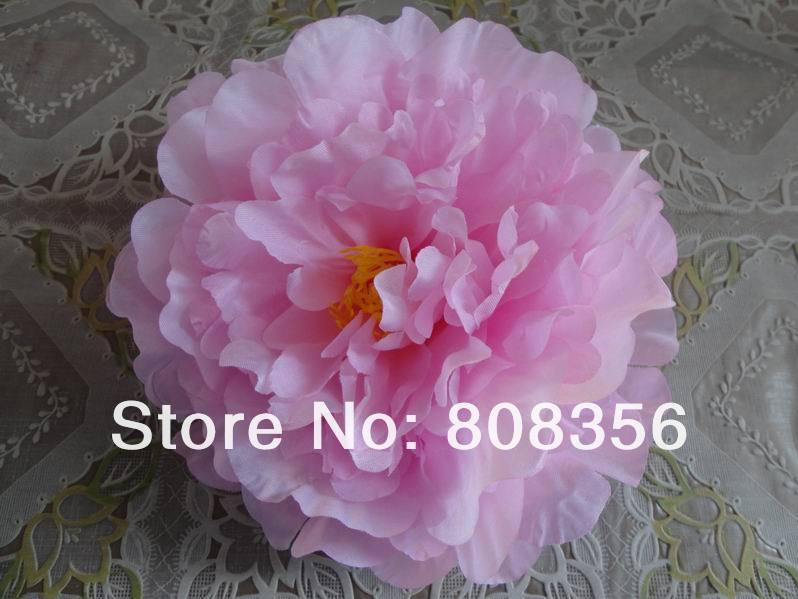 76 шт. искусственная ткань 12 слоев 16 см Открытый Пион цветок голова для Diy Ювелирные изделия Свадьба Рождество U выбрать цвет