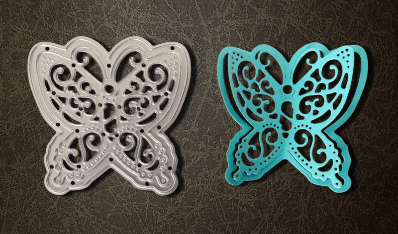 Metal 3D butterfly cutting Dies Stencils for DIY Scrapbooking photo album Decorative Embossing DIY Paper Cards frame vintage 5pcs set card cutting stencil for paper metal die cutting scrapbooking embossing folder troqueles metal