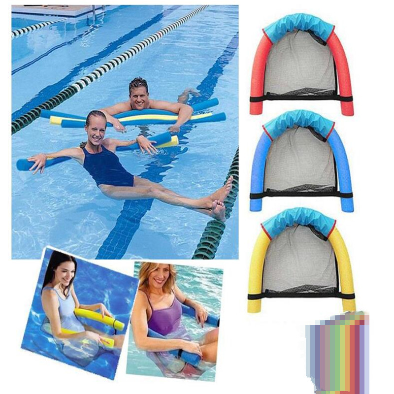 Amazing Noodle Hammock Chair Sling Lounger Water Swimming Pool Inflatable Float Floating (1)