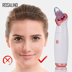 Image 1 - ROSALIND Blackhead Remover Vacuum Cleaner With USB Charging Black Dot Facial Pore Cleaner Pimple Skin Spot Remover Care Tools