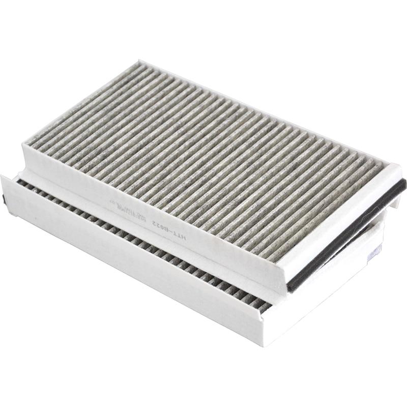 2 шт. воздушные фильтры салона автомобиля для BMW 5 серии E60 528i 535i 535xi 545i 550i 650i M5 64319171858 64316935822 CUK3139
