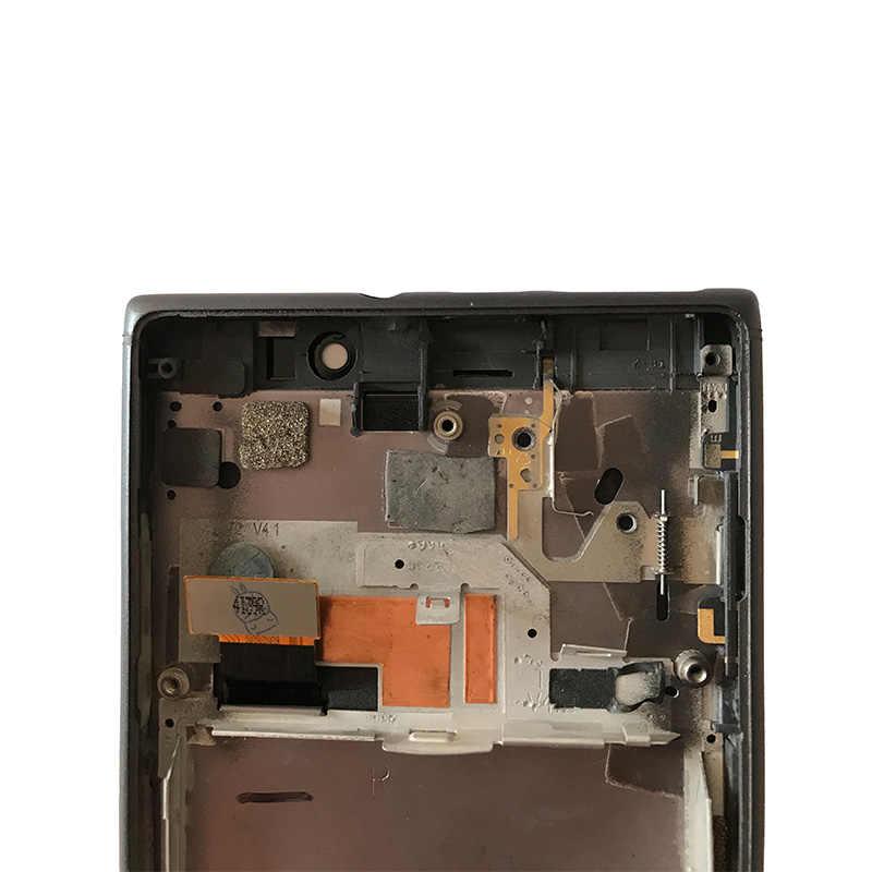100% оригинальный для Nokia lumia 925 ЖК-дисплей сенсорный экран дигитайзер в сборе с рамкой или lumia 925 ЖК без рамки