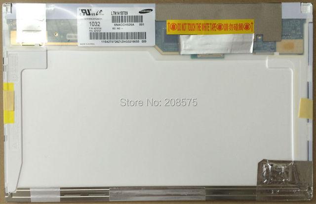 Envío gratis! 14.1 '' de pantalla LCD LTN141BT09 LP141WP3 TLA1 LTN141AT15 B141PW04 V0 B141EW05 V4 40 pins 1440 * 900 para IBM T410 T410i