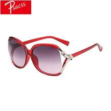 Psacss 2019 New Sunglasses Women Classic Oversize HD Lens Luxury Plastic Sun Glasses Female Retro Lunette De Soleil Femme UV400