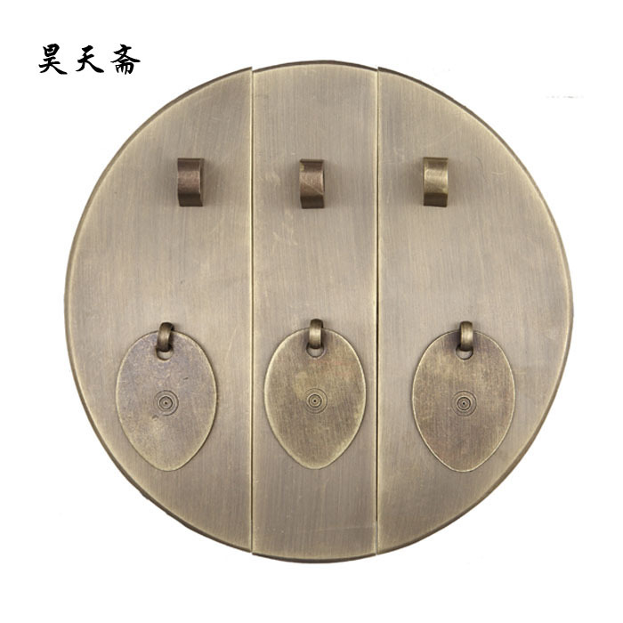 [Haotian vegetarian] copper door handles product / Ming and Qing antique furniture, brass fittings / Chinese Accessories HTB-090 кронштейн для телевизора holder lcds 5020
