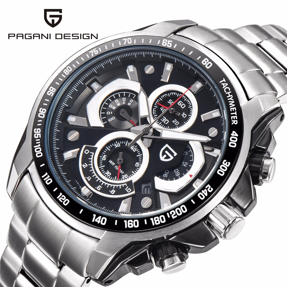 Watches Men Luxury Brand Sport Watch Dive 30m Military Watches Multifunction Quartz Wristwatch Pagani Design Clock reloj hombre mens watch top luxury brand fashion hollow clock male casual sport wristwatch men pirate skull style quartz watch reloj homber
