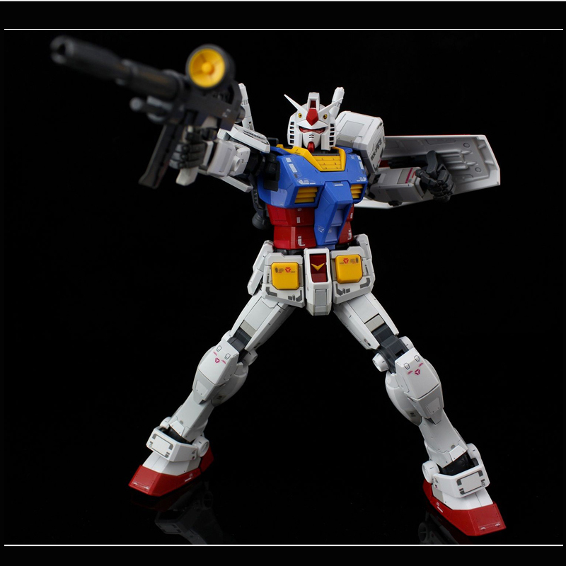 DABAN 6628 Gundam model MG 1/100 RX-78-2 Fighter Ver.3.0 Mobile Suit kids toys daban 1 100 mg wing zero ew endless waltz xxxg 00w0 assembly model kit mobile suit not included display stand