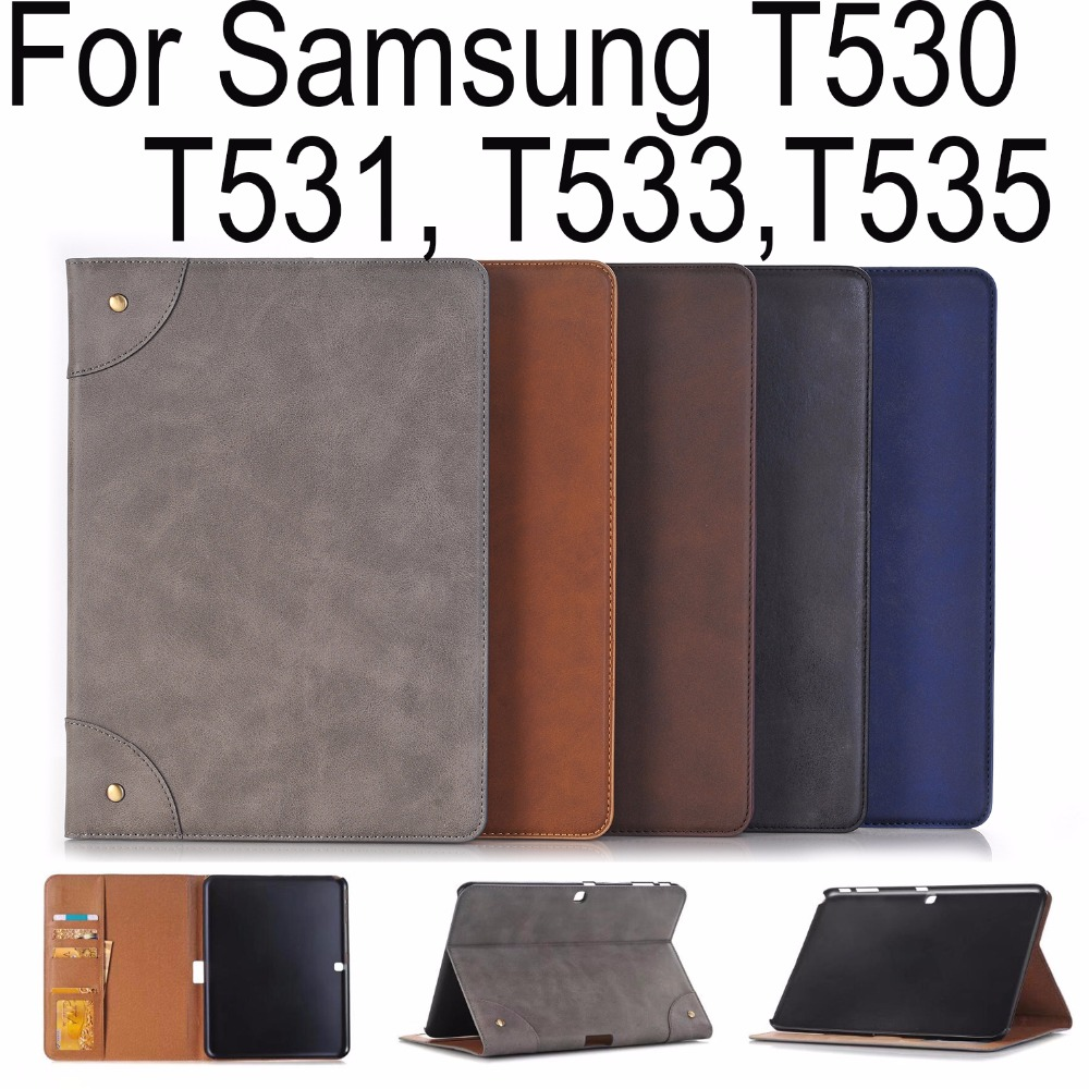 Good Quality PU Leather Case For Samsung Galaxy Tab 4 10.1 T530 Tablet Cover for Samsung Galaxy Tab 4 T531 T533 T535 Skin+Gifts pu leather tablet case cover for samsung galaxy tab 4 10 1 sm t531 t530 t531 t535 luxury stand case protective shell 10 1 inch