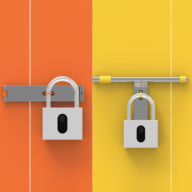 Smart Bluetooth APP cadenas IP65 étanche App contrôle sans fil Intelligent serrure électronique pour entrepôt jardin grande porte