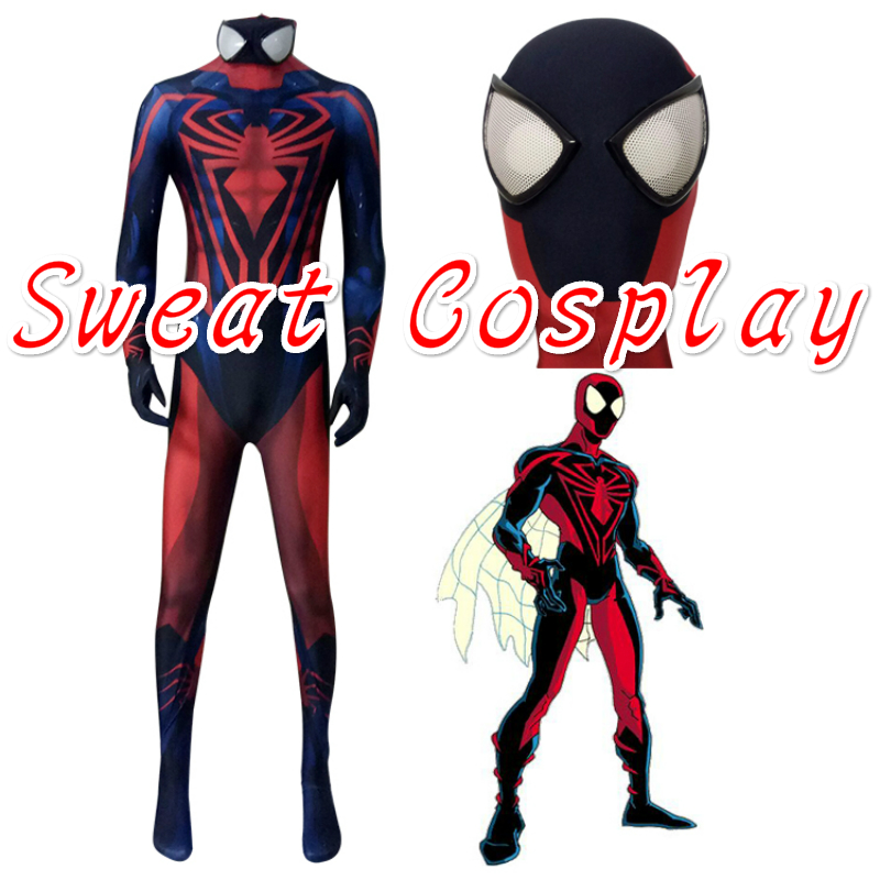 1_meitu_3  sc 1 st  AliExpress.com & High Quality Spiderman Unlimited Costume 3D Printed Muscle Shading ...