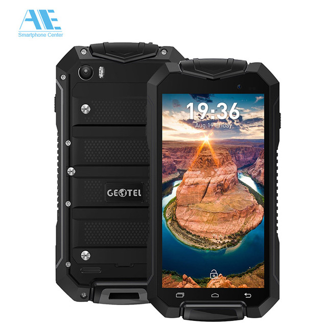 Original GEOTEL A1 IP67 Waterproof Shockproof MTK6580M Quad Core Android 7.0 Smartphone 4.5 Inch 1G RAM 8G ROM 3G Mobile Phone
