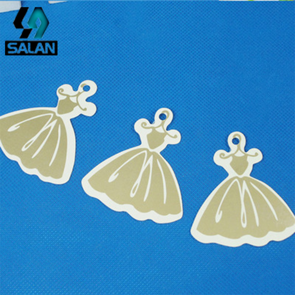 Spot direct high-end womens skirt tag two sets of clothing tag accessories support to sample-made