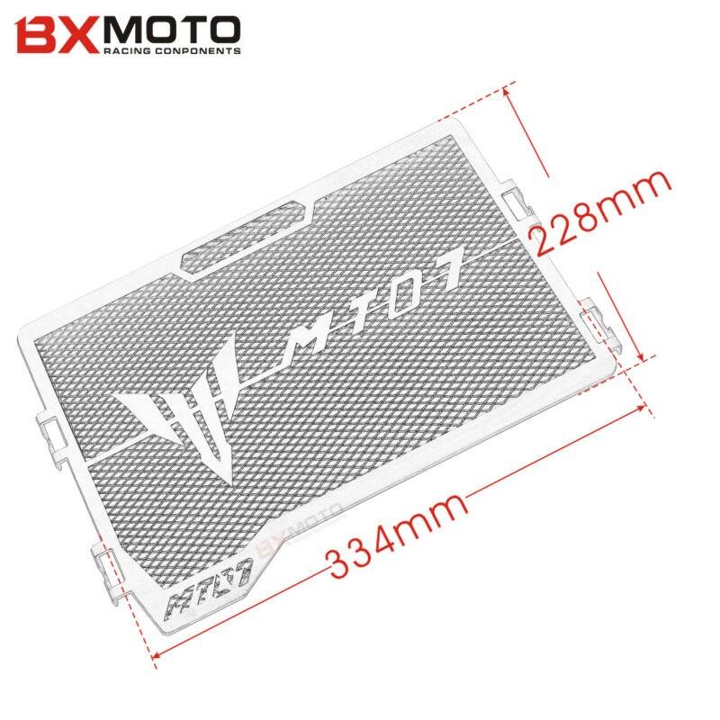 Yamaha MT 07 MT-07 mt07 2014-2017 üçün mühərrik radiatoru Bezel - Motosiklet aksesuarları və ehtiyat hissələri - Fotoqrafiya 6