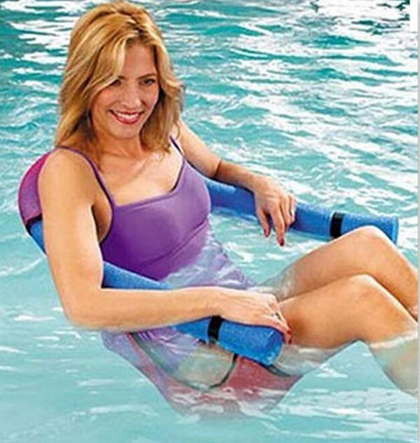 Brand New Swimming Seat Chair Pool Floating Row Floating Bed Kickboard Child Stick Adult Floating Ring