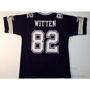 Jason Witten Stitched Name   Number Throwback Football Jerseys cddbdb1f7