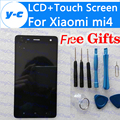 For Xiaomi mi4 LCD Display+Touch Screen 100% New Digitizer Screen Glass Panel Assembly Replacement For Xiaomi mi 4 M4 In Stock