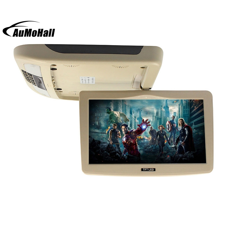 Car Monitor Car Flip Down TFT LCD Monitor Car Roof Mounted Monitors 9 Inch 1 pcs 13 3 inch car roof mount flip down monitor tft lcd monitor retail car electronics lcd car monitor car roof mount monitors
