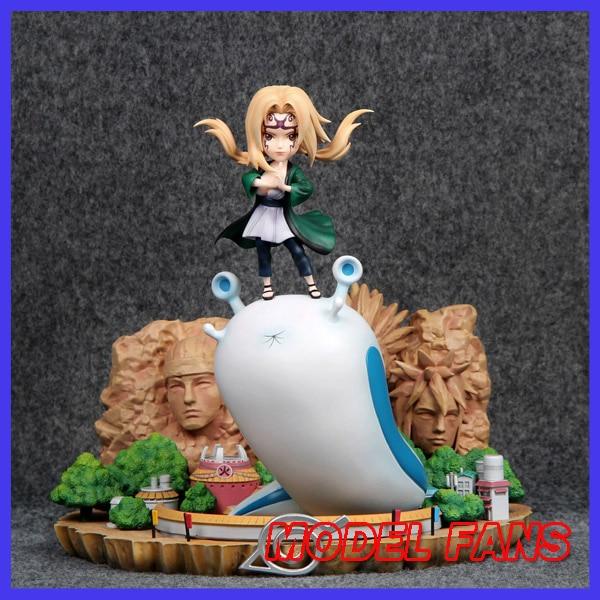 цена на MODEL FANS IN-STOCK AY STUDIO NARUTO 25cm sd Tsunade GK resin made statue figure toy