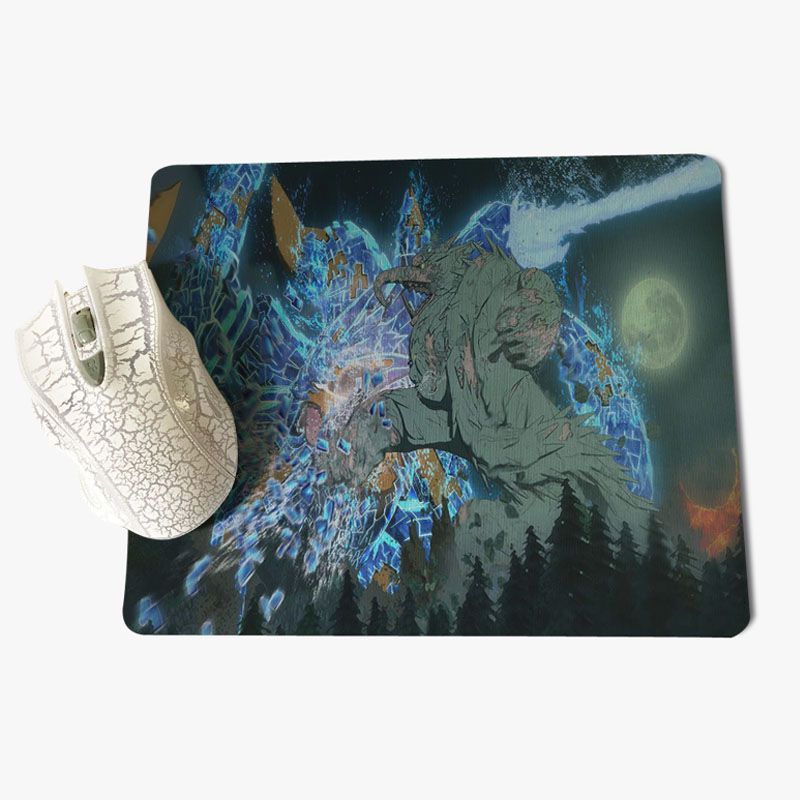 Yinuoda Наруто Сэндзю Hashirama офисных мышей геймер мягкие Мышь Pad Размеры для 18x22x0,2 см игровой Мышь колодки