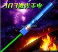 Green Laser sight High Power hunting Green Dot tactical 532 nm 200000m 303 laser pointer verde lazer Pen Head Burning Match