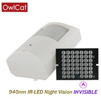 OwlCat HD 1080P Surveillance Security AHD Camera 2.0mp Infrared Night Indoor AHD H CCTV PIR Type AHD H Invisible IR 940nm Video