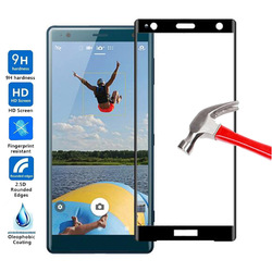На Алиэкспресс купить стекло для смартфона for sony xperia xz2 compact tempered glass screen protector 9h full cover glass for sony xperia xz2 compact