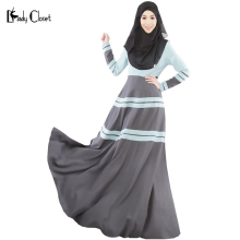 2016 Abaya Muslim Long dress turkish women clothing muslim abaya jilbab islamic clothes robe musulmane kaftan dubai maxi dresses
