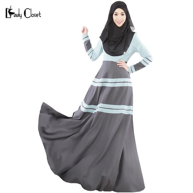 2016 mulheres vestuário muçulmano Abaya Muçulmano vestido Longo turco abaya jilbab roupa islâmica robe musulmane kaftan dubai vestidos maxi