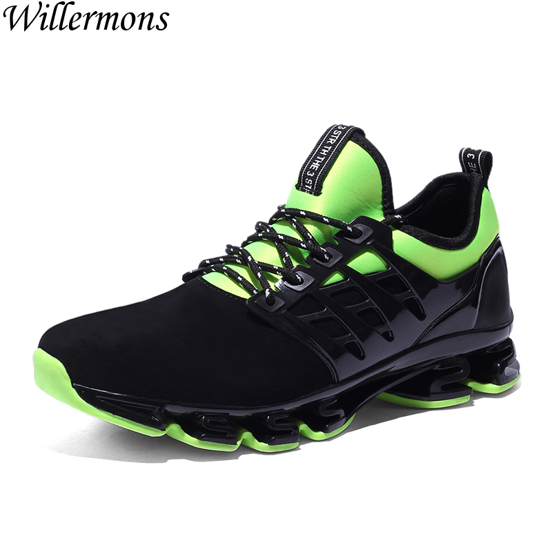 Mens Summer Breathable Comfortable Outdoor Sports Sneakers Trainers Shoes Men Antislip Running Shoes for Jogging