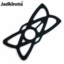 Jadkinsta 탄성 실리콘 오토바이 전화 홀더 Gopro 전화 7 7 플러스 8 11 레드 블랙 고무 밴드