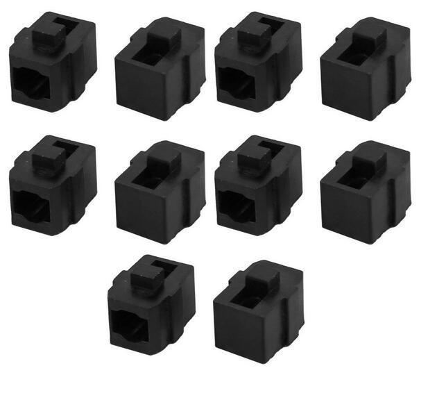 10 Pcs Electric Sander Plastic Carbon Brush Holder for Makita 4510 9035