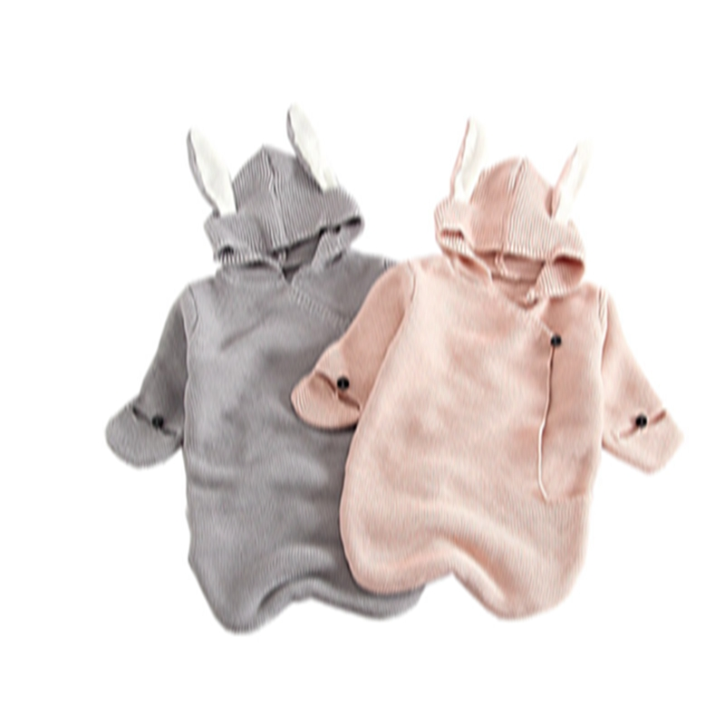 Newborn Knitted Blanket Sleepers Infant Baby Sleep Sacks For Newborn Baby Boys Girls Rabbit Shaped Swaddle Wrap