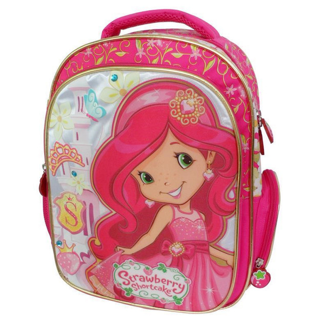 469a71334b05 Cute Strawberry Shortcake Backpack Kids Elementary School Backpacks  Schoolbag Rucksacks Children School Bags for Girls Grade 1-3