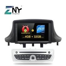 "4 GB 7 ""IPS pantalla Android 8,0 GPS estéreo para Renault Megane 3 Fluence Auto Radio FM RDS wiFi Bluetooth DVD navegación"