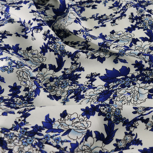 wholesale meter soft cotton material chinese ethnic print fabric ...