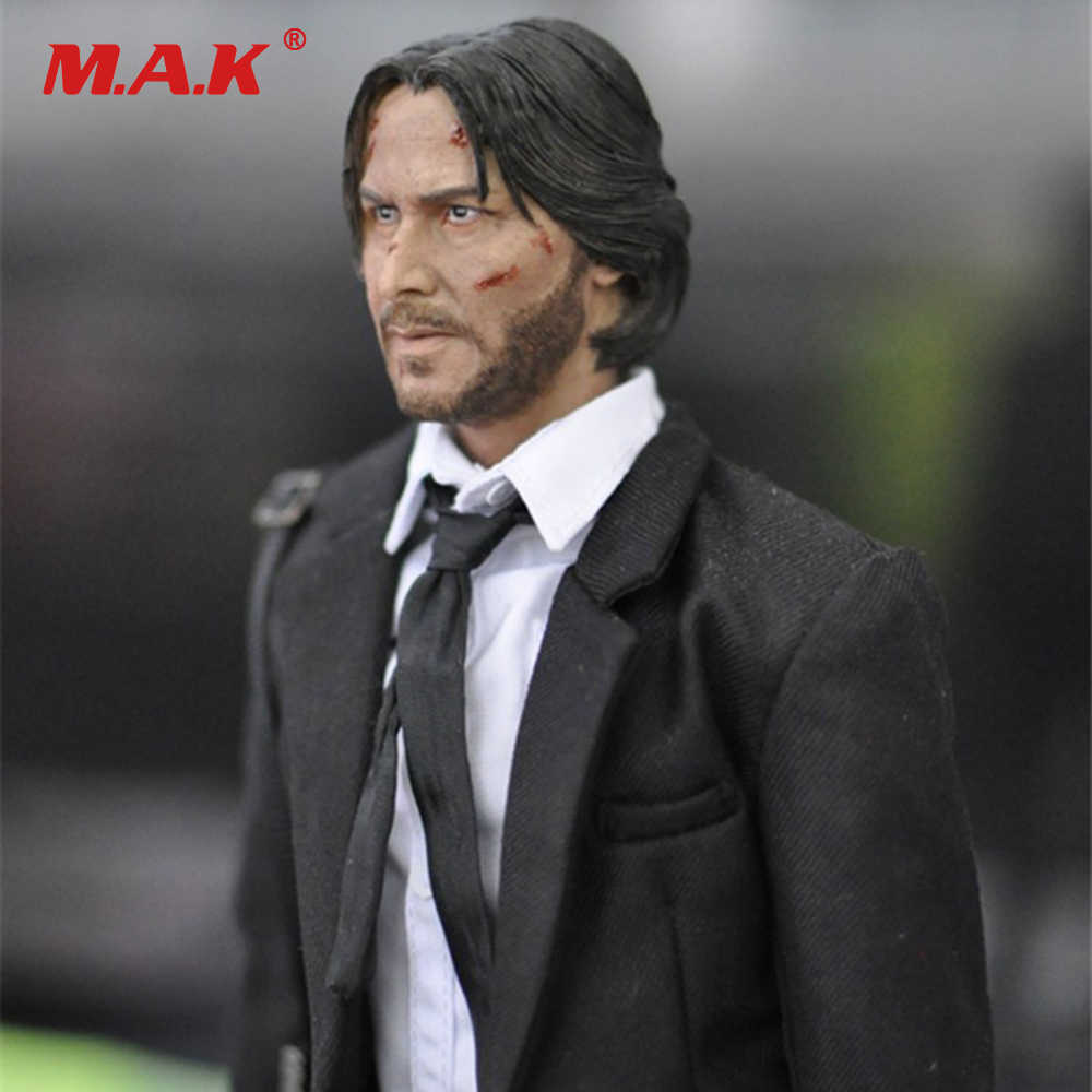 1:6 Scale Full Set Male Action Figure KMF037 John Wick Retired Killer Keanu  Reeves Figure Model Toys for Gift Collections
