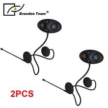 2pcs  2-way Motorcycle Motorbike Helmet Intercom Headset Communication System