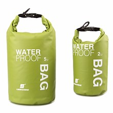 New 2L/5L Waterproof Water Bags Sack Pouch Canoe Portable Dry Bags EA14 1 SET CheapFOR Boating Kayaking Camping Rafting Hiking