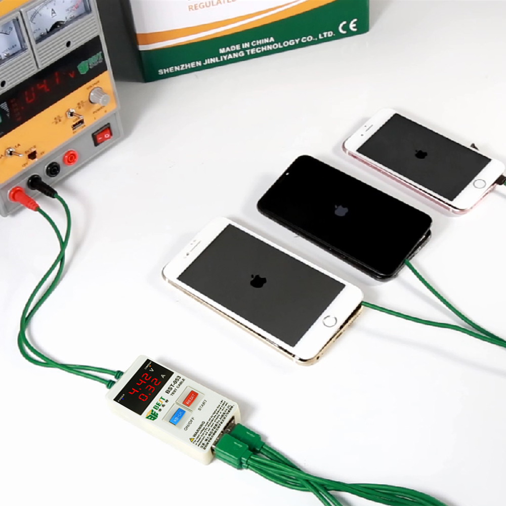 Power Supply Boot Line For IPhone X 8 8P 7 7P 6S 6 6P 6s Plus Test Repair Tools Mobile Phones Fast Current Protection Tools Set