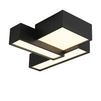 Современные Структура светодиодный потолочный светильник светодиодный светильник для Кухня офиса магазины 110 В 220 В творческий домашнего д